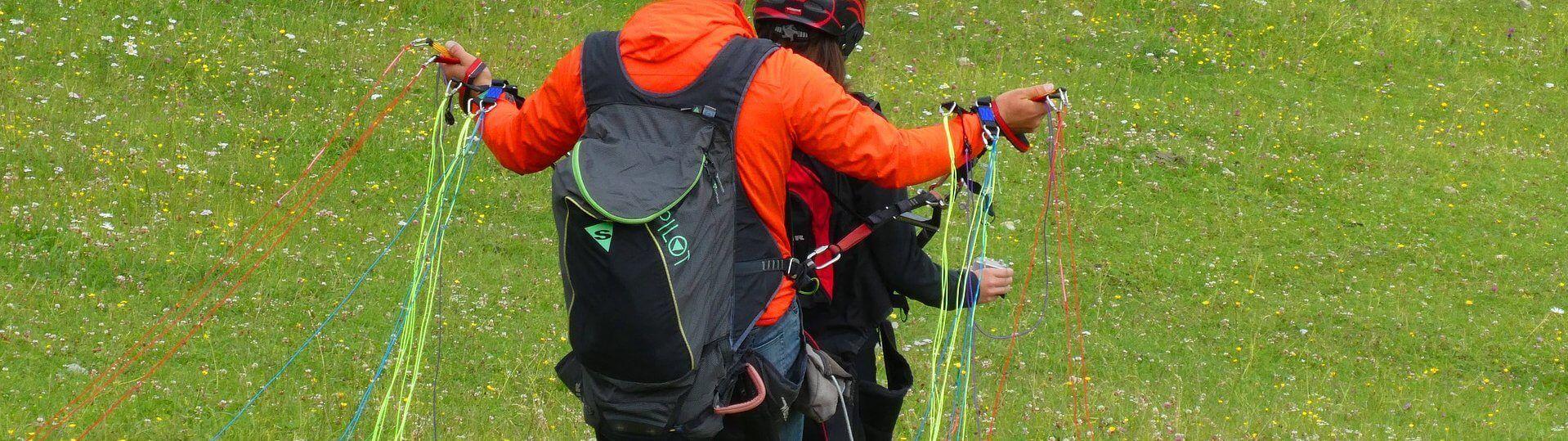 Paragliding über dem Nationalpark Hohe Tauern