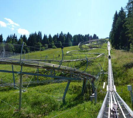 Alpine Coaster Osttirodler in Lienz   Alpenwelt rasant
