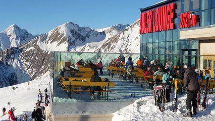Adler Lounge (2.421m) | Kulinarischen Genuss - Übernachtung Ja - Skigebiet