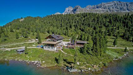 Alpengasthaus Obersee (2.020m) - bewirtschaftet - Übernachtung Nein - Foto: Alpengasthof-Obersee