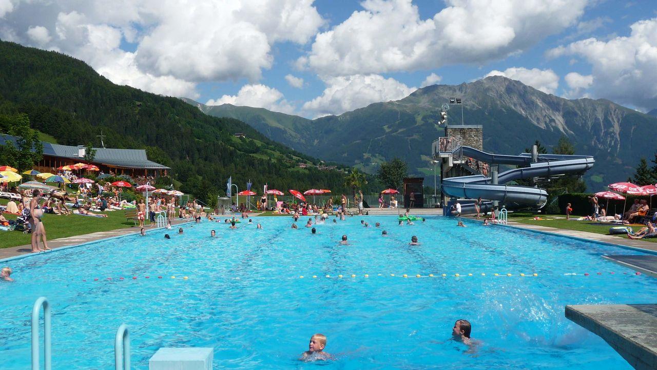 Freibäder & Badeseen in Osttirol - Hier das Freischwimmbad Virgen