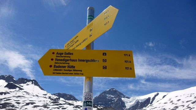 Der Gletscherweg Innergschlöß ist ein Themenweg im Nationalpark Hohe Tauern in Osttirol