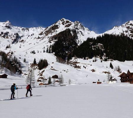 Schneeschuhwandern in Ausservillgraten | © TVB Osttirol - Schett Christof