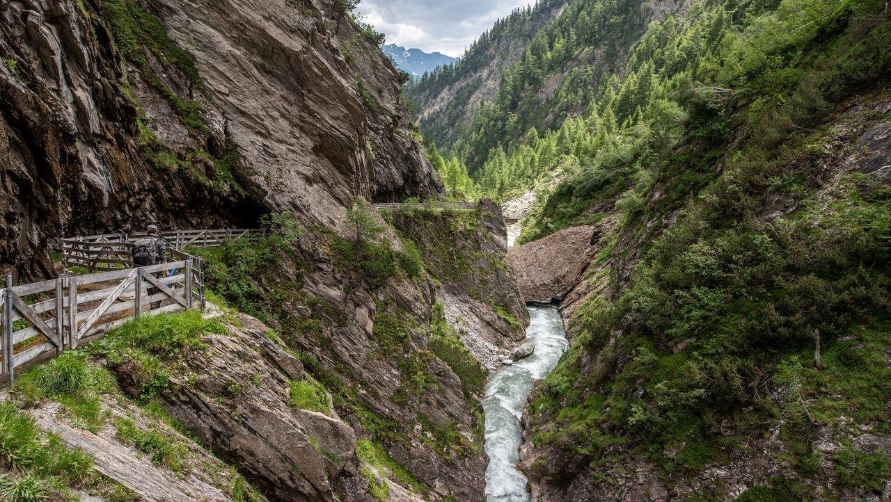 Durch die Daberklamm zum Kalser Tauernhaus | © TVB Osttirol_Assil Hannah