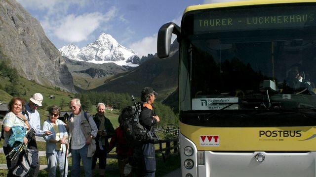 Gratis Busse in Osttirol mit der Gästekarte | Bild: NPHT / Gruber Peter