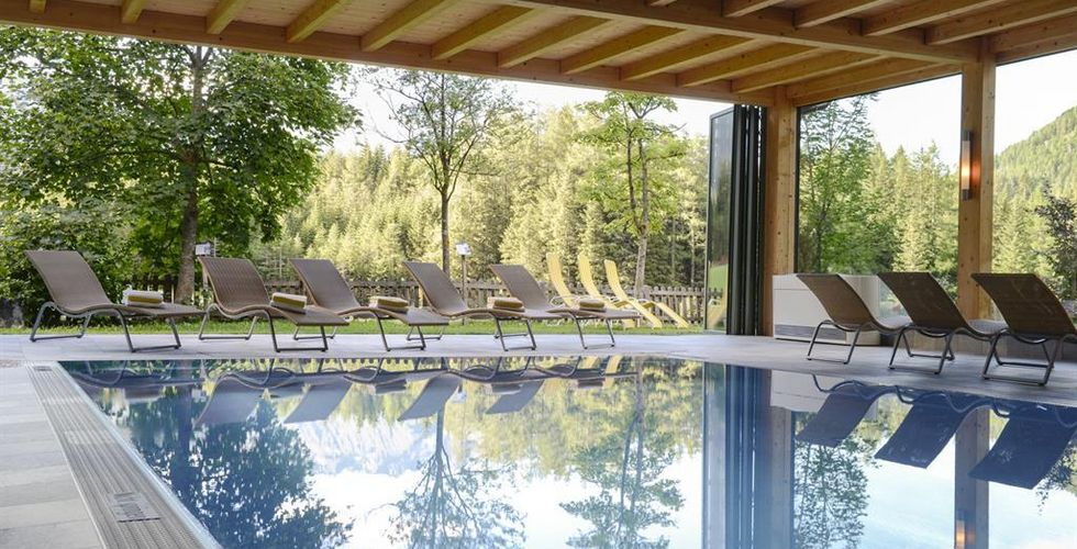 Wanderhotel Taurerwirt in Kals Osttirol - Wellness, Pool - Foto: taurerwirt.at