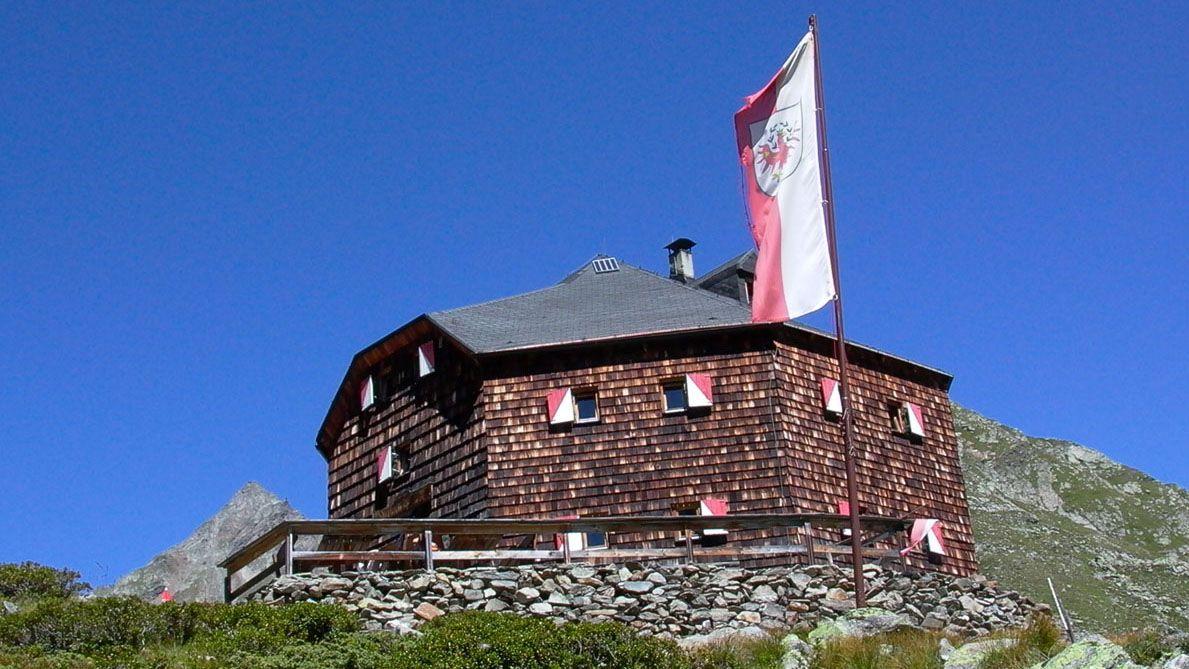 Lasörlinghütte (2.293m) | Privathütte - Übernachtung Ja - Gepäcktransport Foto: virgentalhuetten