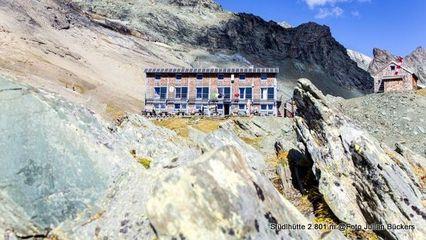 Stüdlhütte (2.801m) | Moderne Schutzhütte für Glocknerbesteigungen @Bückers