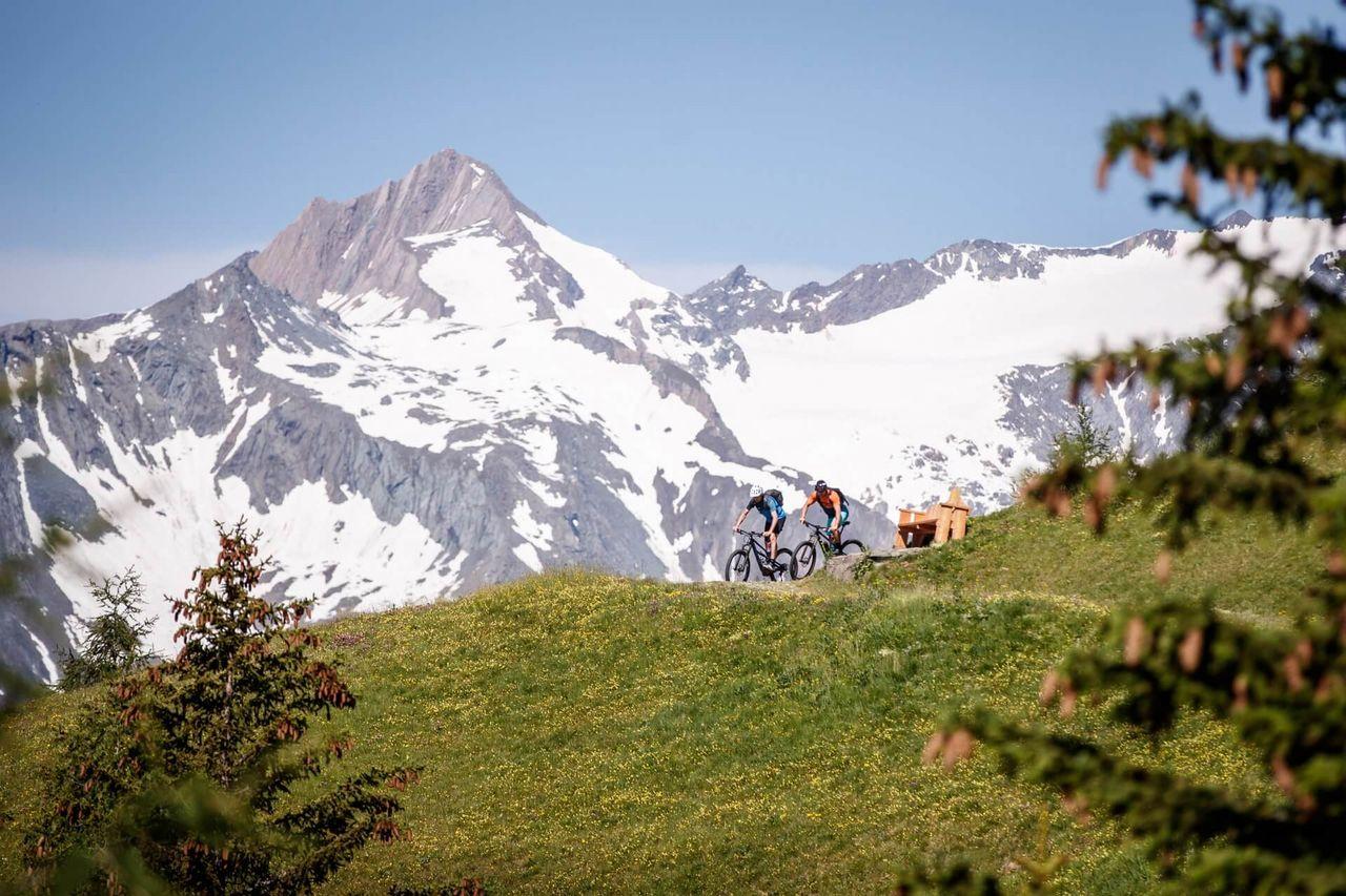 Mountainbiken in Osttirol - Timmeltal - Prägraten - Berg Quirl 3251m | ©TVB Osttirol / Erwin Haiden (bikeboard.at)