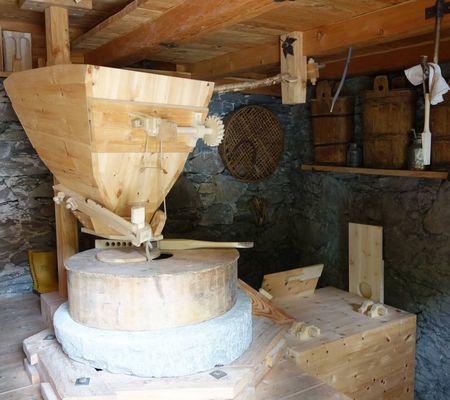Islitzermühle - Wasserradmühle in Hinterbichl bei Prägraten a.G.