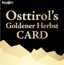 Vorteilskarte - Osttirol's Goldener Herbst Card