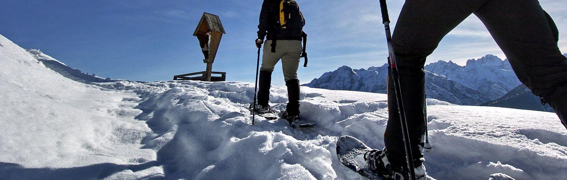 Gailtal und Lesachtal - Schneeschuhwandern - OsttirolerLand.com   © TVB Osttirol Lesach