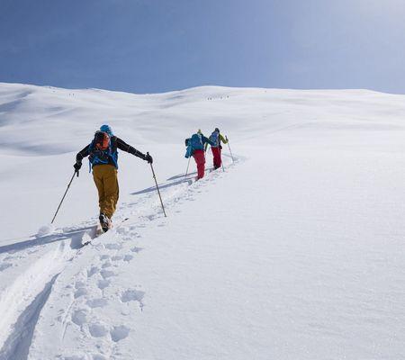 Skitour in Innervillgraten | © TVB Osttirol - W9 Studios