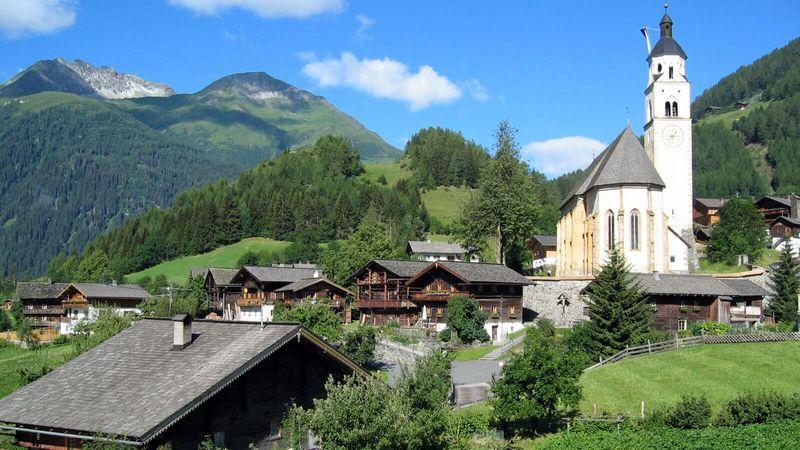 Wallfahrtskirche Maria Schnee - Obermauern / Virgen