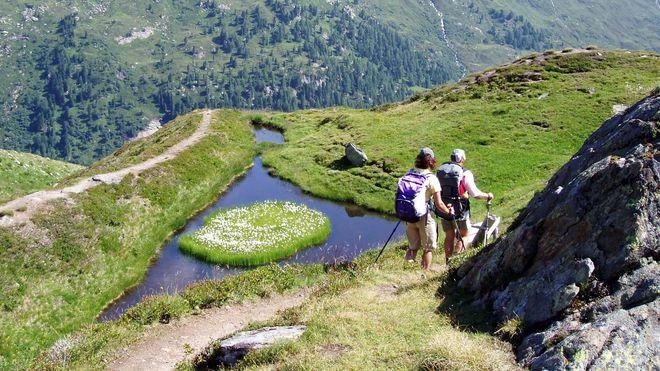 """Mein Lieblingsplatz: Das """"Auge Gottes"""" am Gletscherlehrweg Innergschlöß in Osttirol"""