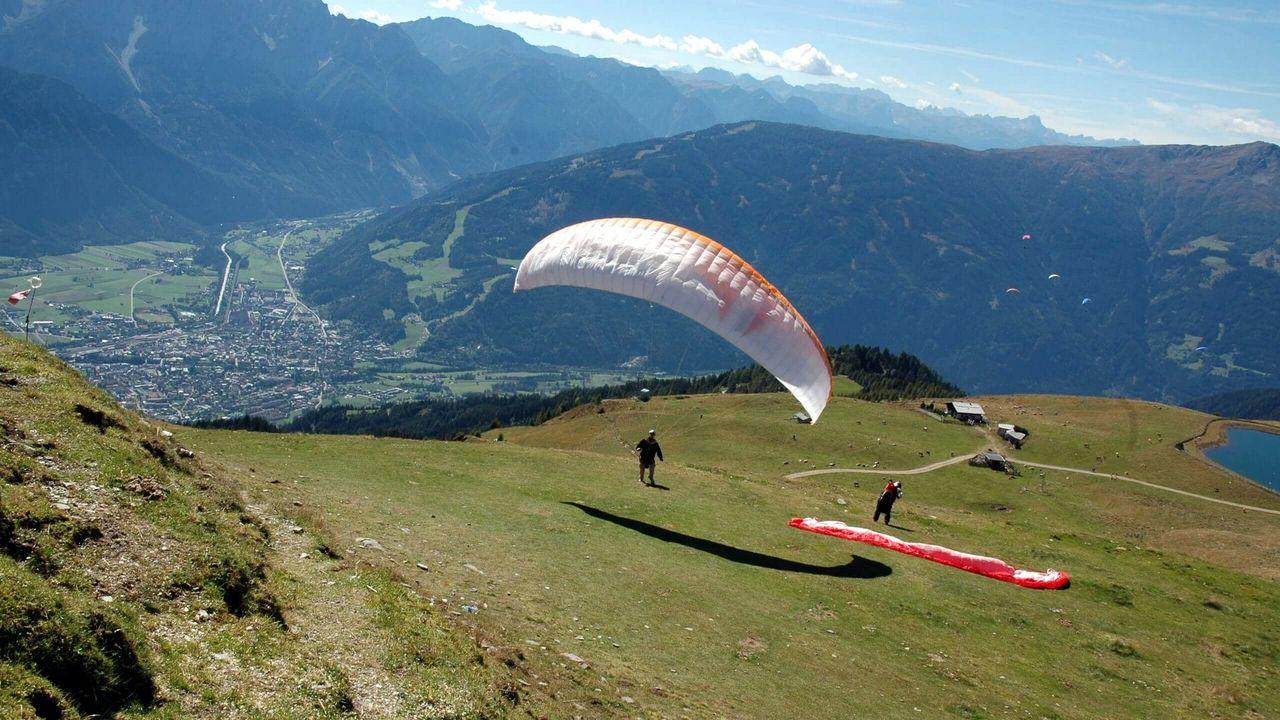 Paragleiten in Osttirol - Zettersfeld bei Lienz - Bild: TVB Osttirol-Isep_CK