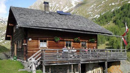 Die Äußere Steiner Alm (1.914m) in der Region Hohe Tauern - Matrei in Osttirol
