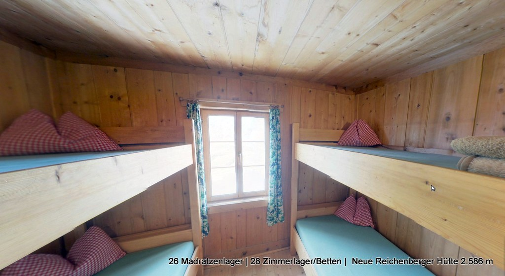 Neue Reichenberger Hütte 2.586m