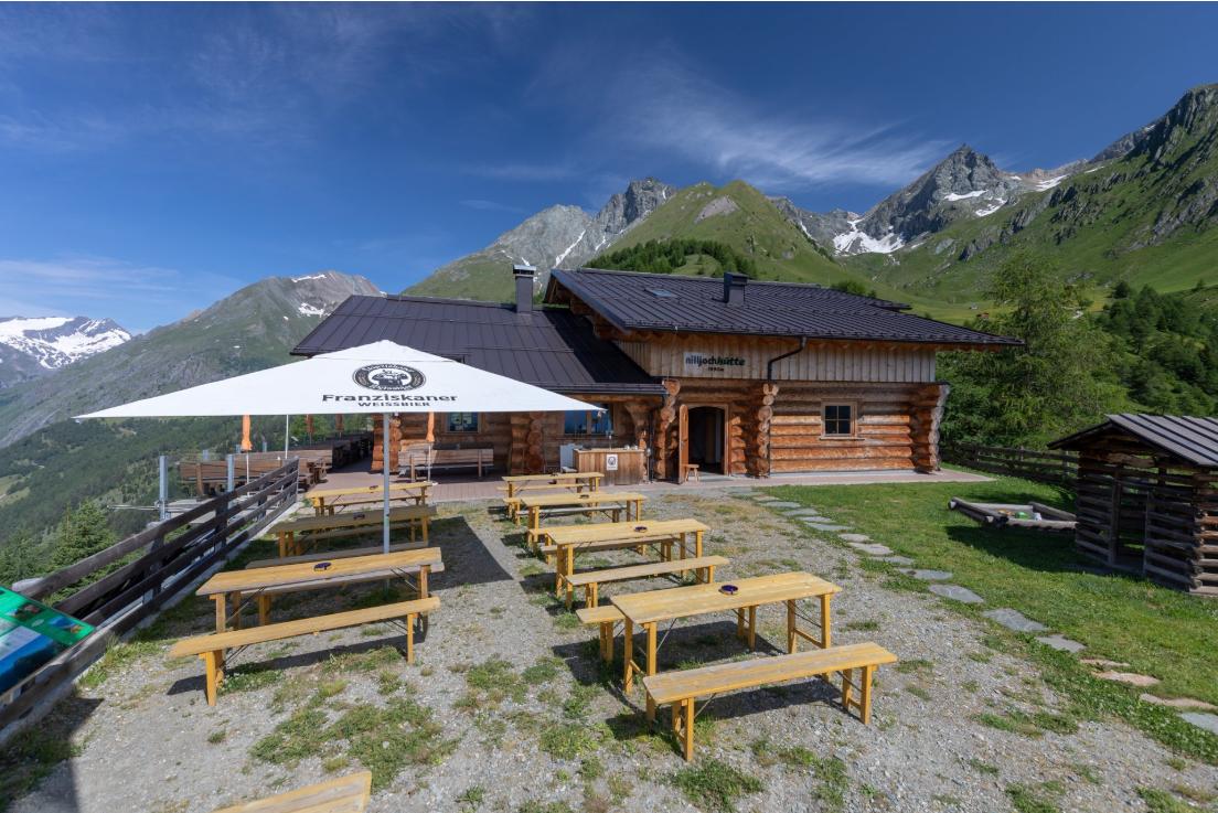 Nilljochhütte - 1.990m