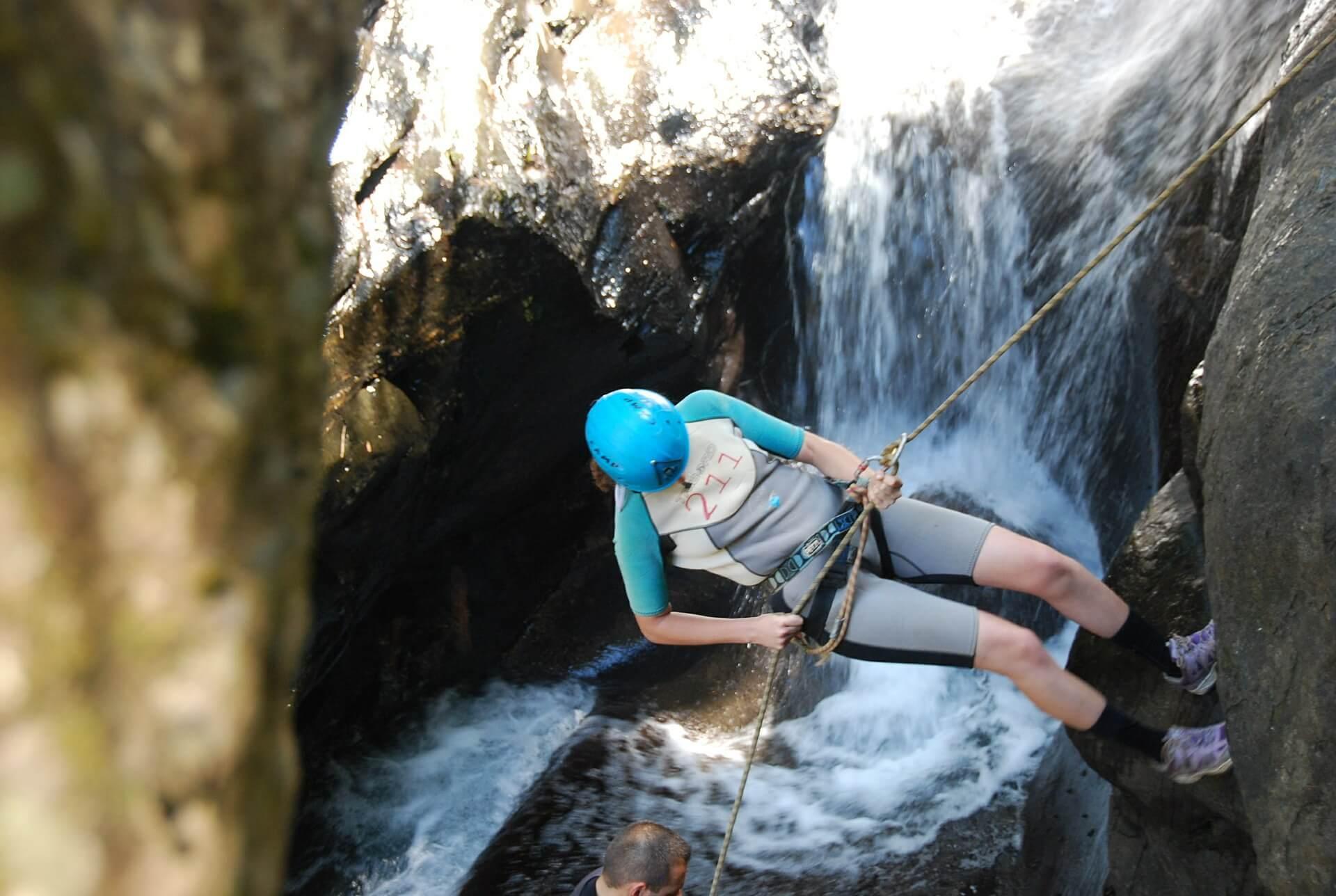 Canyoning in Osttirol   Wandern, Klettern, Rutschen, Springen, abseilen, Schwimmen