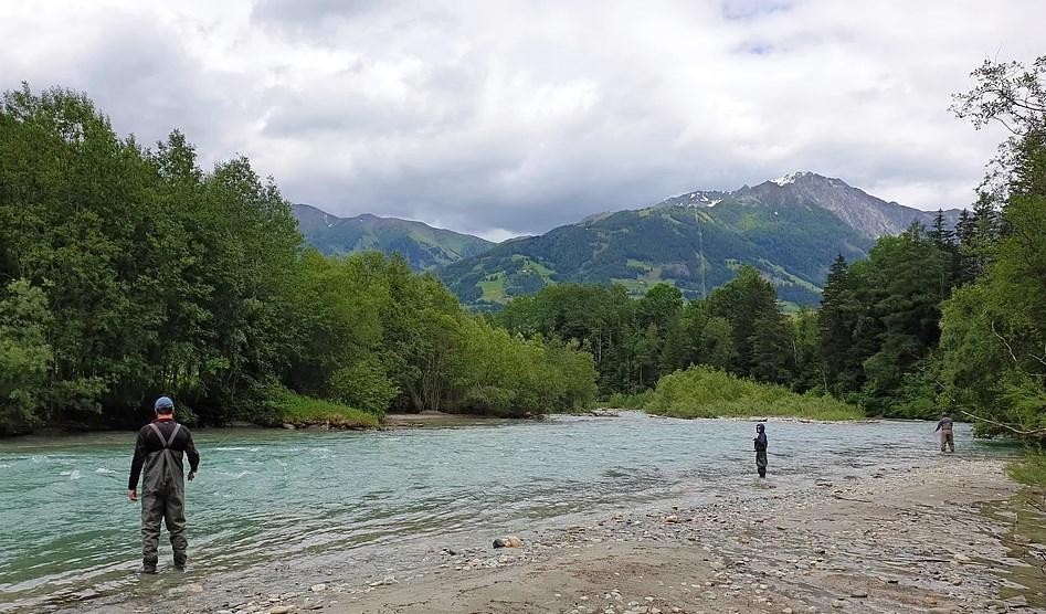 Fliegenfischen an der kleinen Isel | Kurse Fa. Ranacher in Osttirol