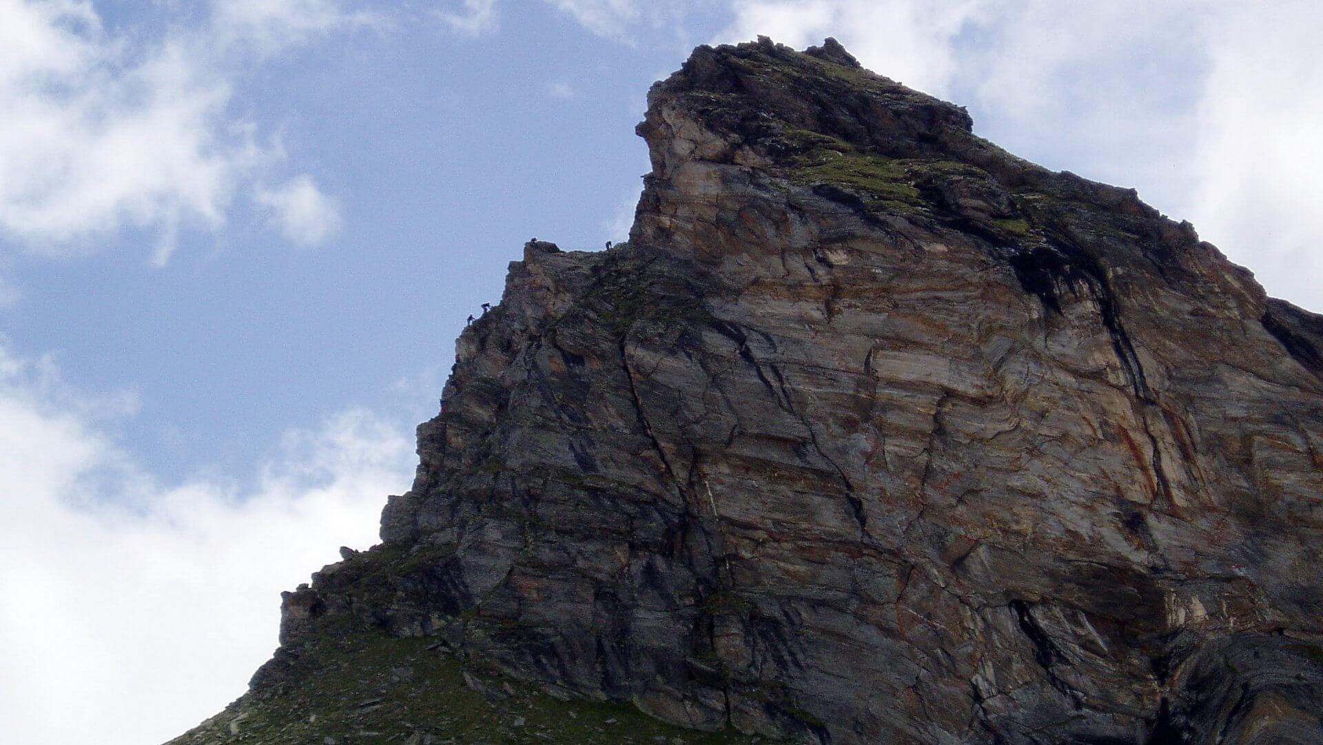 Klettersteig vom Türmljoch auf das Türml (2.790m).