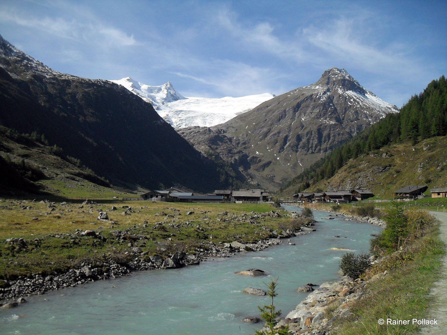 Innergschlöß Gletscherweg: Wanderung vom Matreier Tauernhaus