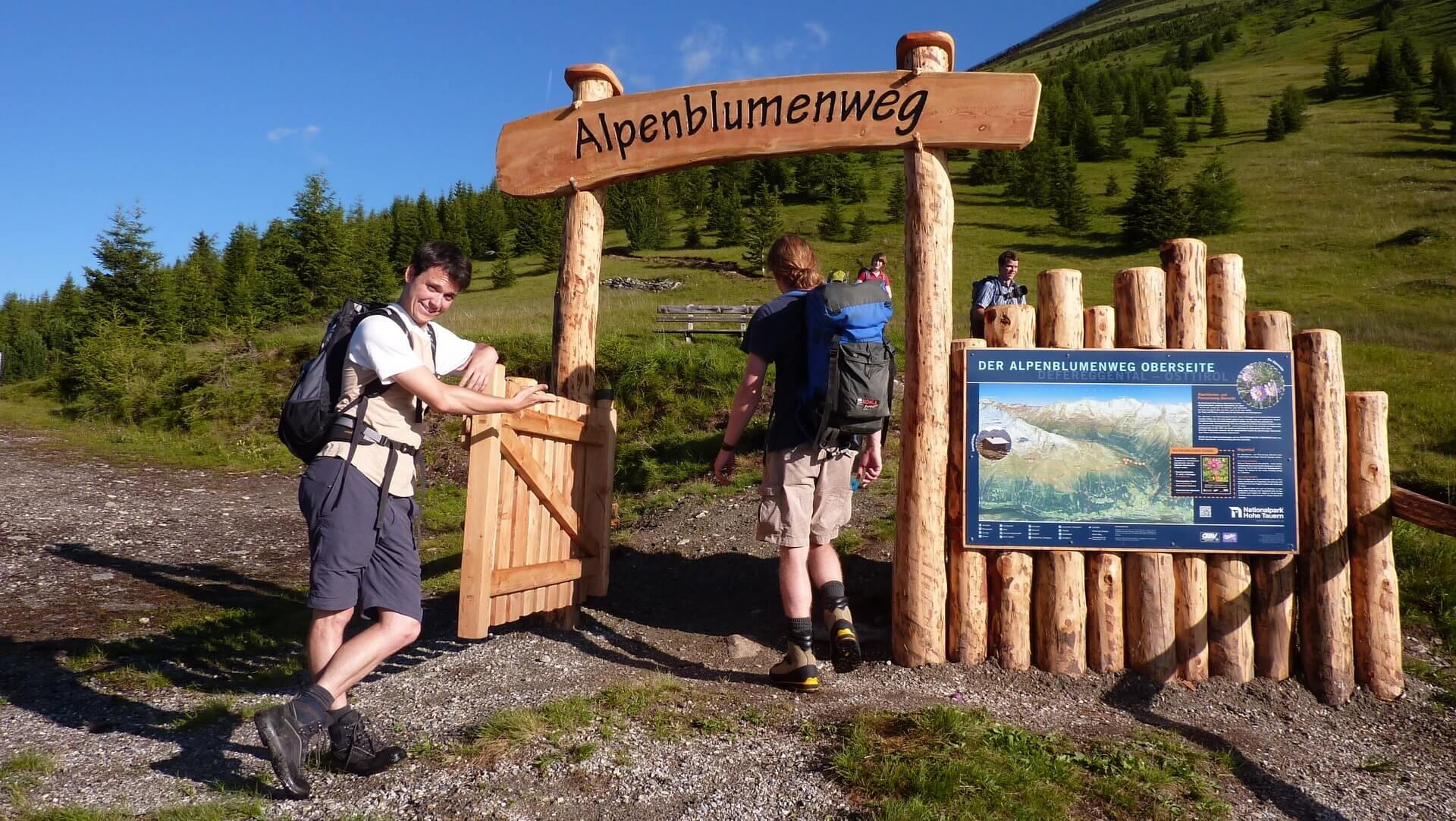 Alpenblumenweg St. Jakob im Defereggental