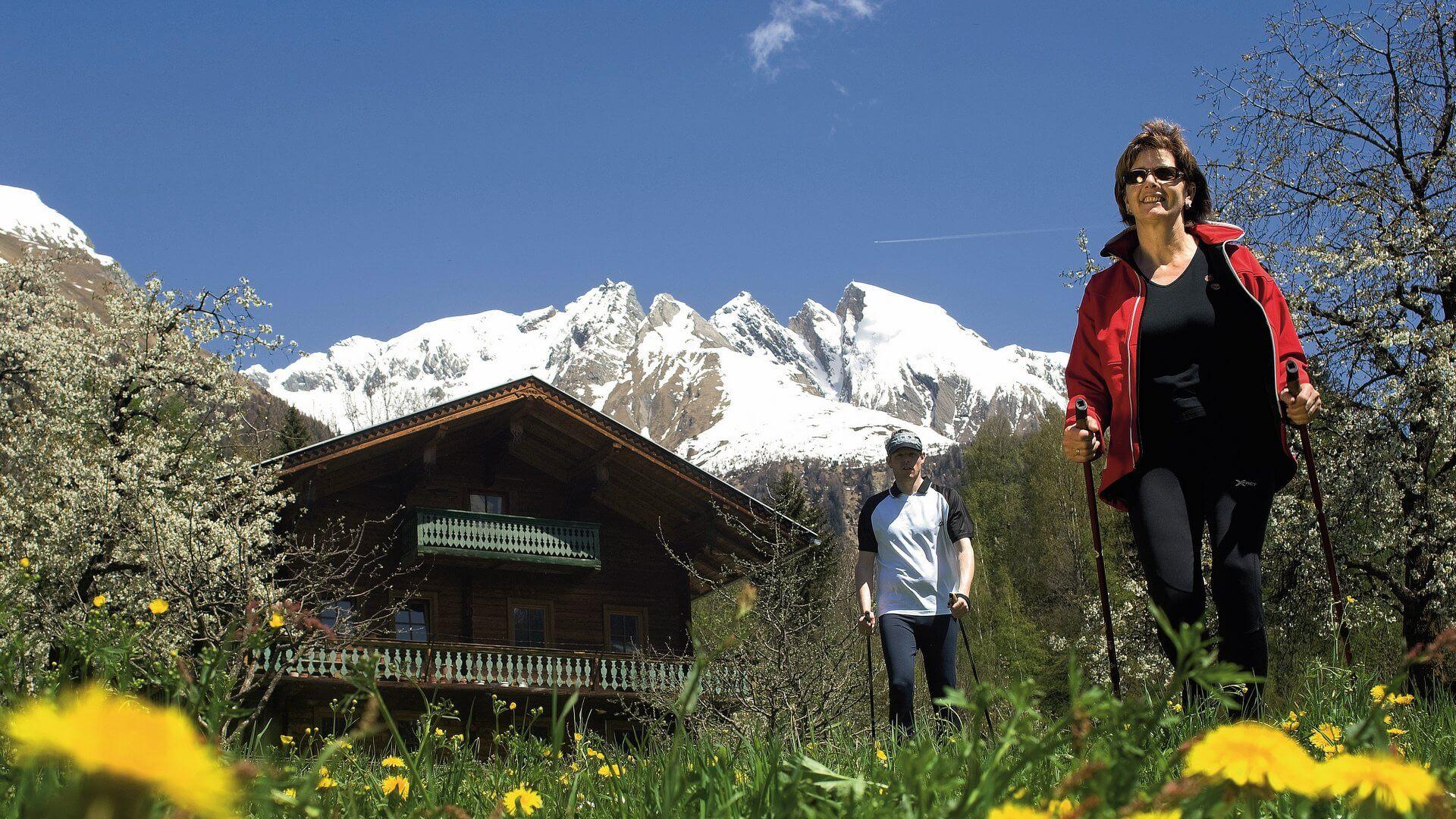 Nordic Walking in Osttirol Arena in Virgen   Foto: Profer & Partner