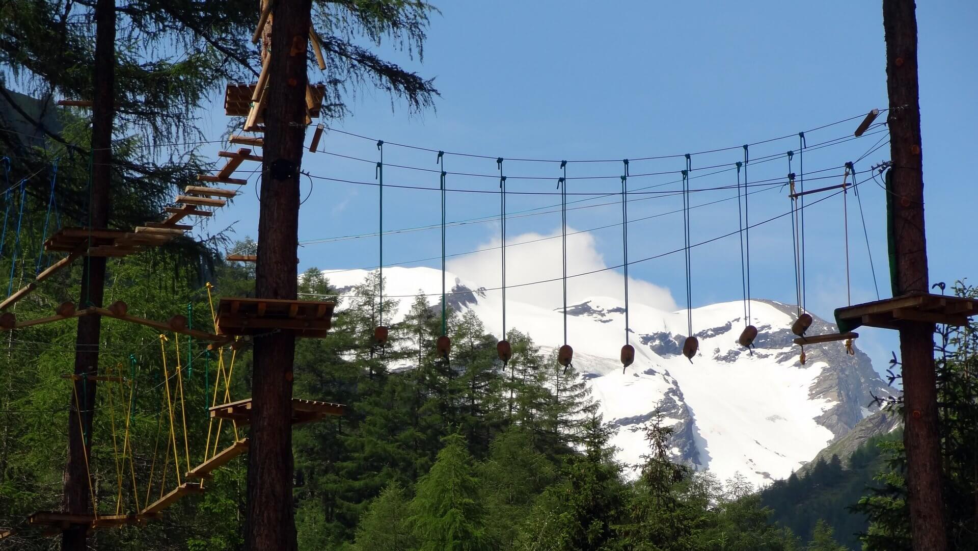 Waldseilpark Grossvenediger Adventures in Prägraten - Osttirol - Hinterbichl - Ströden