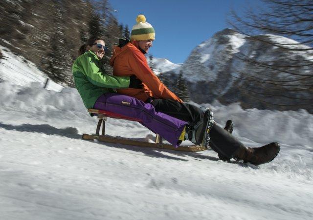 Rodeln und Schlittenfahren in Osttirol | ©TVB Osttirol