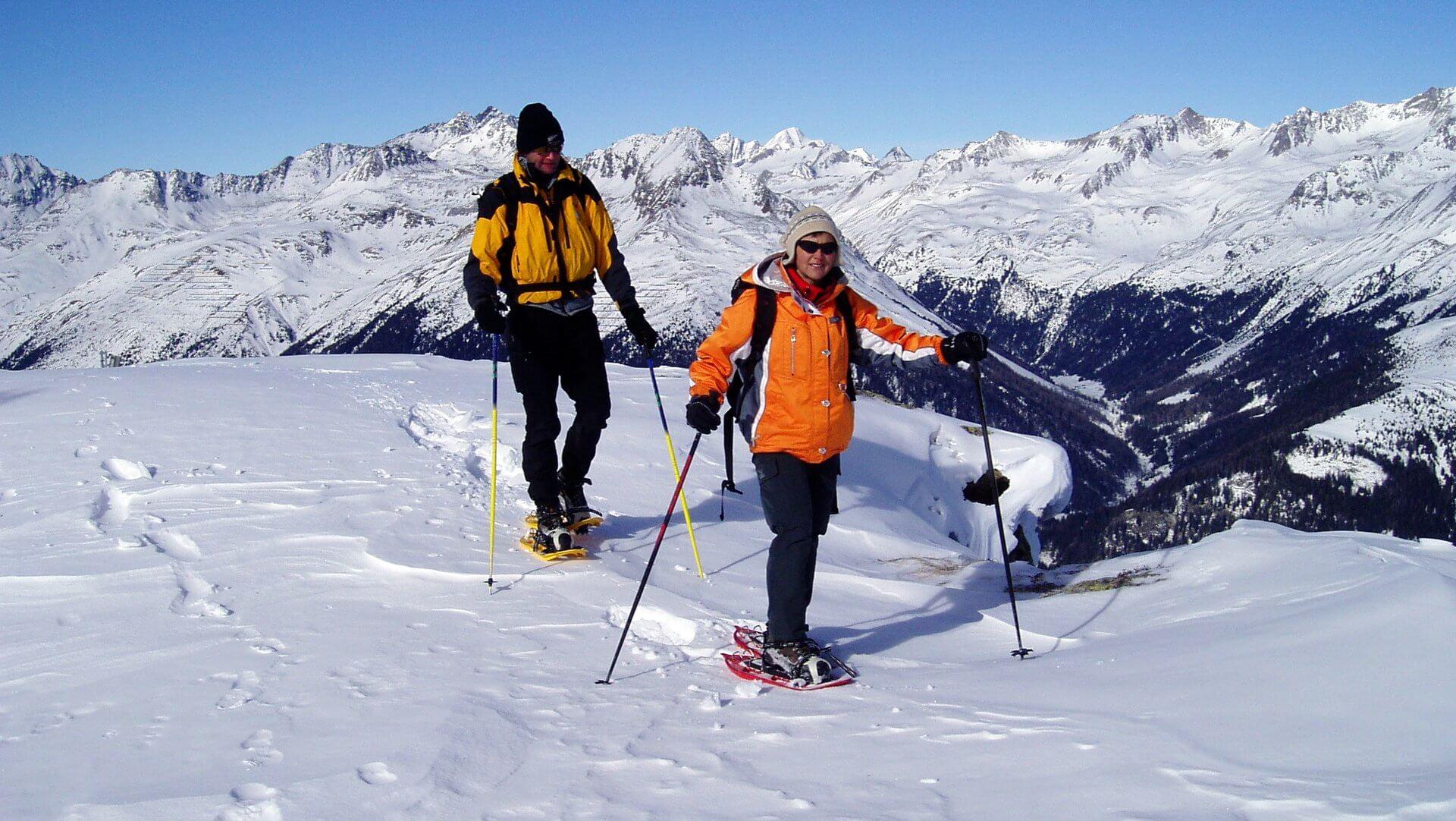 Schneeschuhwandern in Osttirol   Bild Bergführer Mariacher